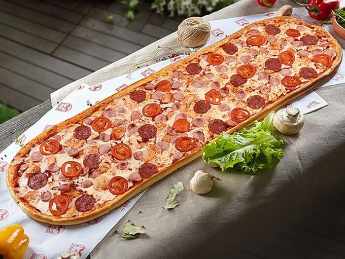 Метровая пицца Детская