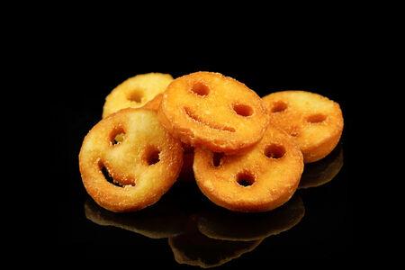 Картофельные смайлы