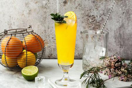 Домашний лимонад Passion Fruity