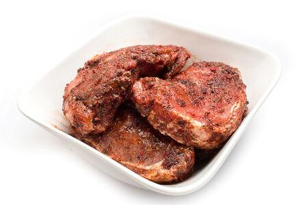 Маринованная корейка свинины