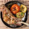 Фото к позиции меню Баранина томленая с печеным картофелем
