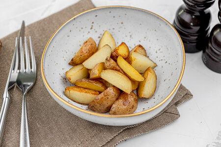 Картофель молодой печеный