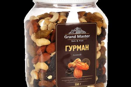 Смесь орехов и сухофруктов Гурман Grand Master