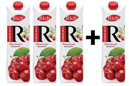 Rich Вишня 3+1