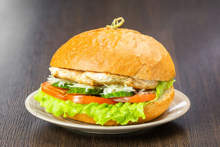 Бургер Филе куриной грудки