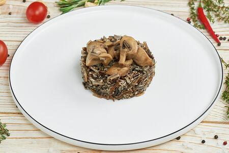 Рис дикий с грибами