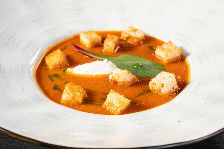 Суп Томатный с базиликом