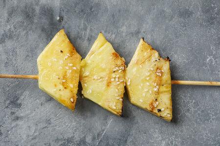 Шашлык из ананаса