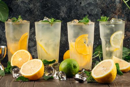 Лимонад лимонный