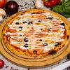Фото к позиции меню Пицца Лососевая