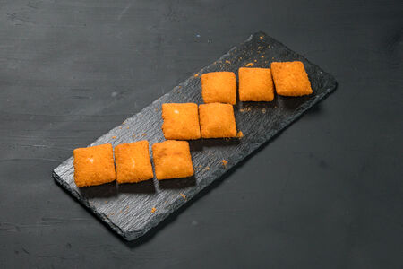 Снеки с сыром и перцем