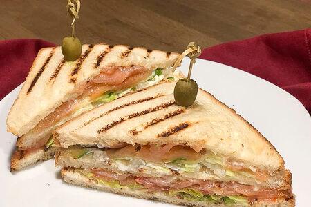 Лосось сэндвич