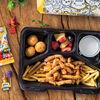 Фото к позиции меню Детский обед с наггетсами