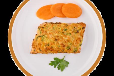 Рыба красная с овощами по-русски