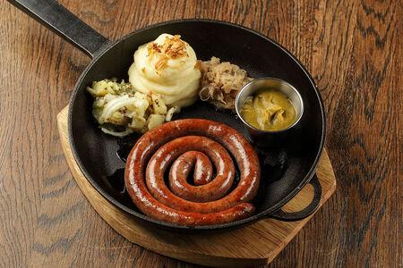 Колбаска Баварская гриль люкс