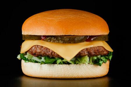 Чизбургер c говядиной