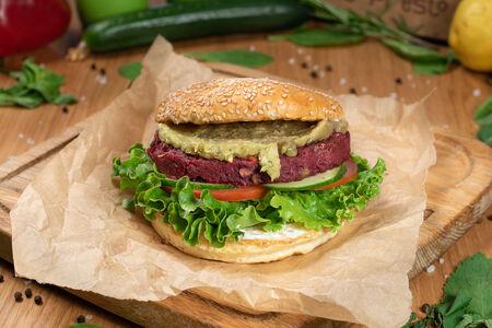 Бургер без мяса