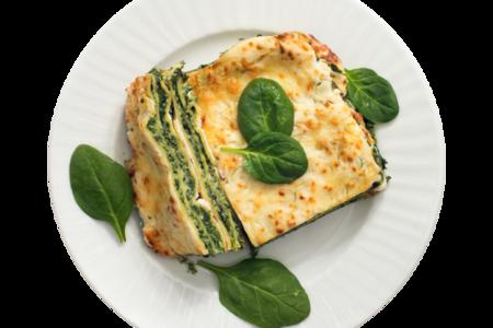 Лазанья со шпинатом