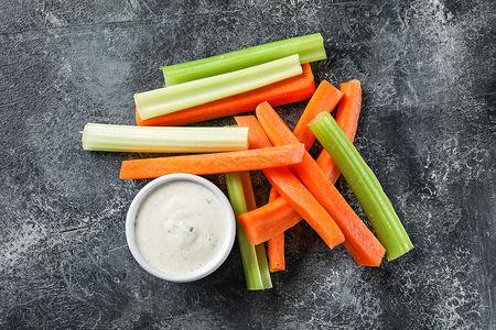 Сельдерей и морковь