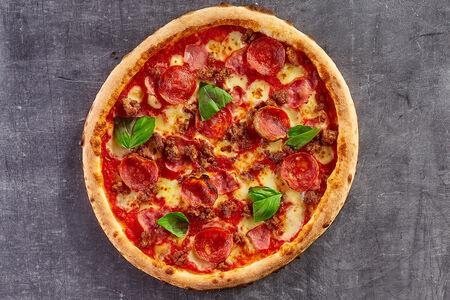 Пицца Мясная сальсичча