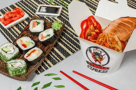 Оптимальный суши-ланч