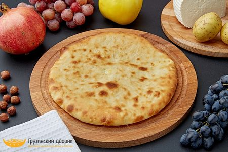 Хачапури с картошкой и сыром