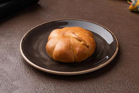 Пирожок с тыквой и пшеном