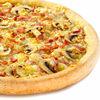 Фото к позиции меню Пицца Ветчина и грибы
