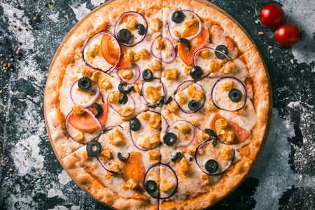 Пицца Карри