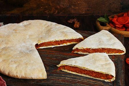 Пирог осетинский с курагой