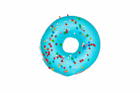 Пончик Черничный