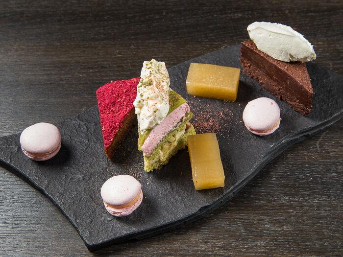 Коллекция мини десертов