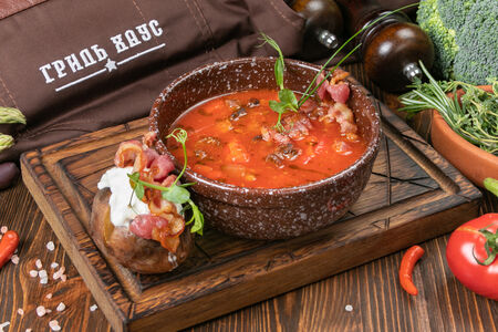 Суп Венгерский гуляш из мраморного мяса