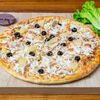 Фото к позиции меню Пицца Курица и ананасы