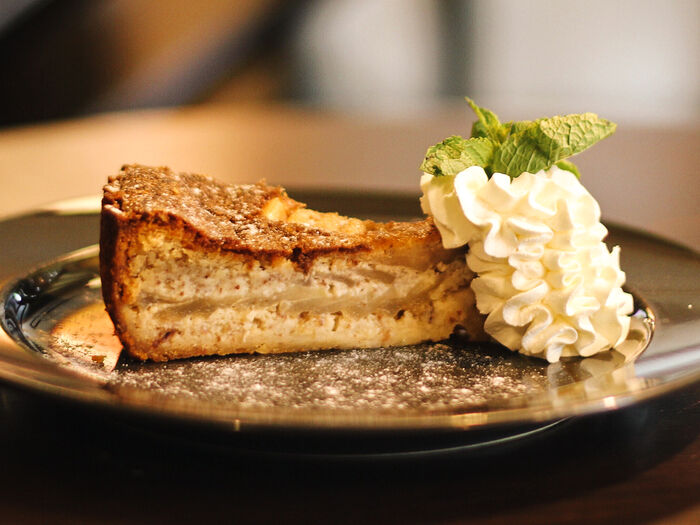 Пирог Французский с грушей