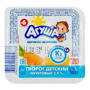 «Агуша» 3,9% абрикос-морковь