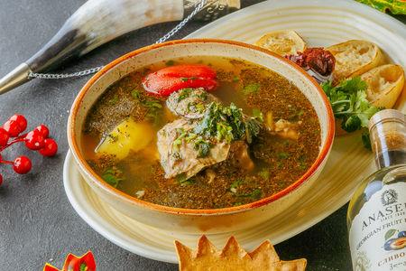 Суп Кюфта по-тбилисски