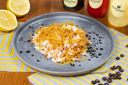 Салат из индейки с картофелем пай