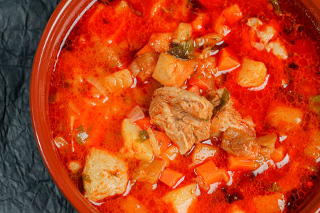 Суп Чанах из говядины