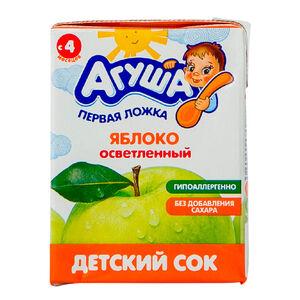 «Агуша» яблоко