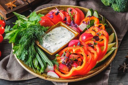 Крудате из овощей