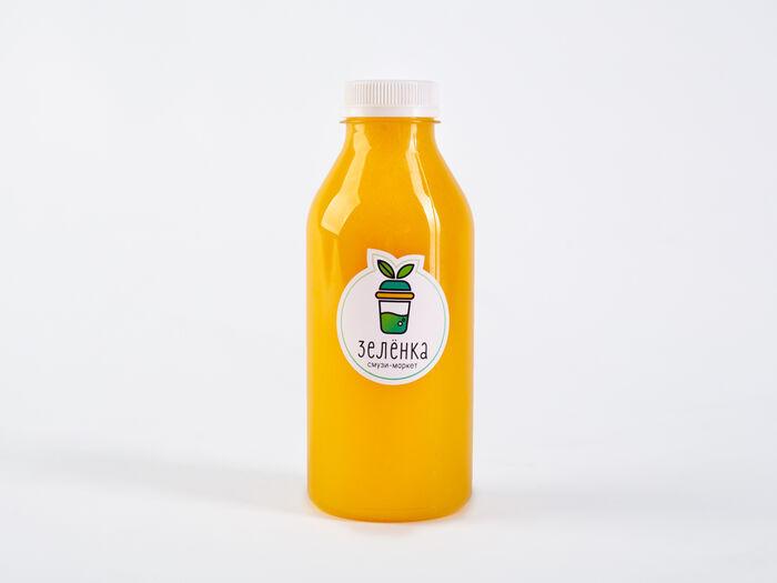 Свежевыжатый сок Апельсин, лимон, имбирь