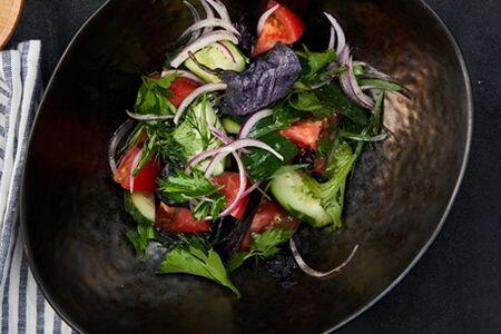 Овощной салат постный
