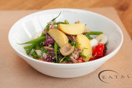Салат Нисуаз Традиционный салат с тунцом