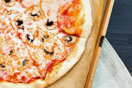 Пицца Грибанутая