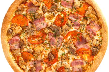 Пицца Мясная на толстом тесте