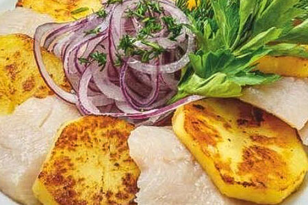 Селедочка с картошечкой