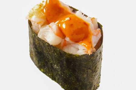 Спайс-суши с креветкой