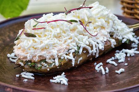 СП Печёный баклажан с имеретинским сыром