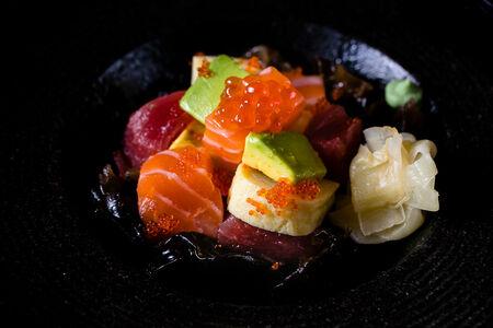 Сашими салат